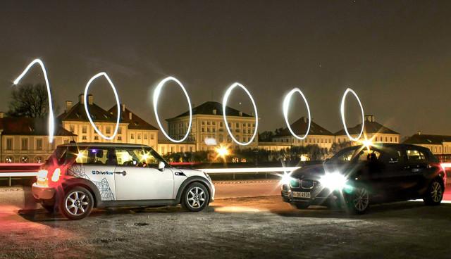 DriveNow Carsharing - 100.000 Kunden