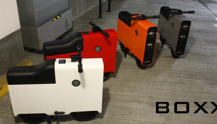 Elektroroller The Boxx - Stauraum Farben