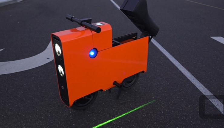 Elektroroller The Boxx - Stauraum