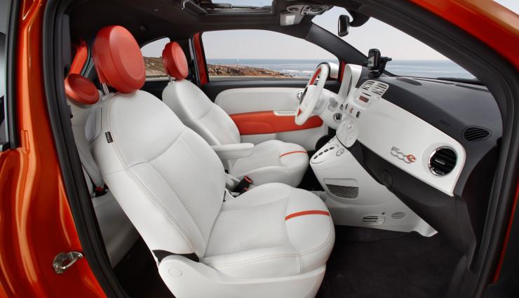 Fiat 500e Innenraum