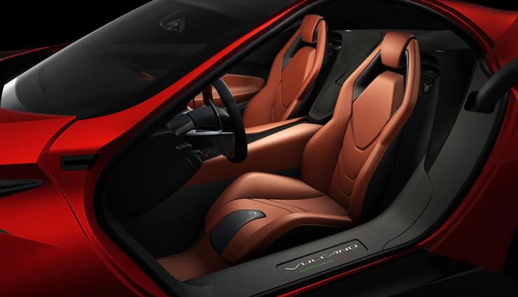 Icona Vulcano Hybrid-12-Zylinder Sitze