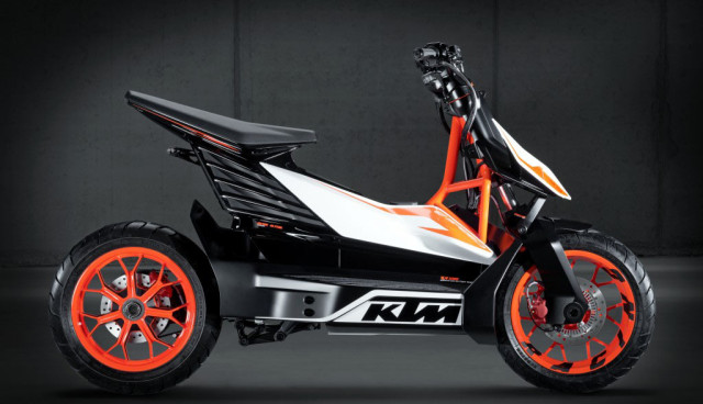 KTM E-Speed Electric Scooter Elektroroller Seite