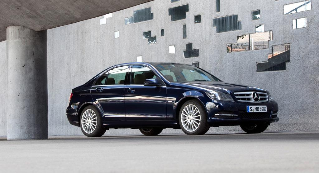 Mercedes-Benz C-Klasse Hybrid und Brennstoff