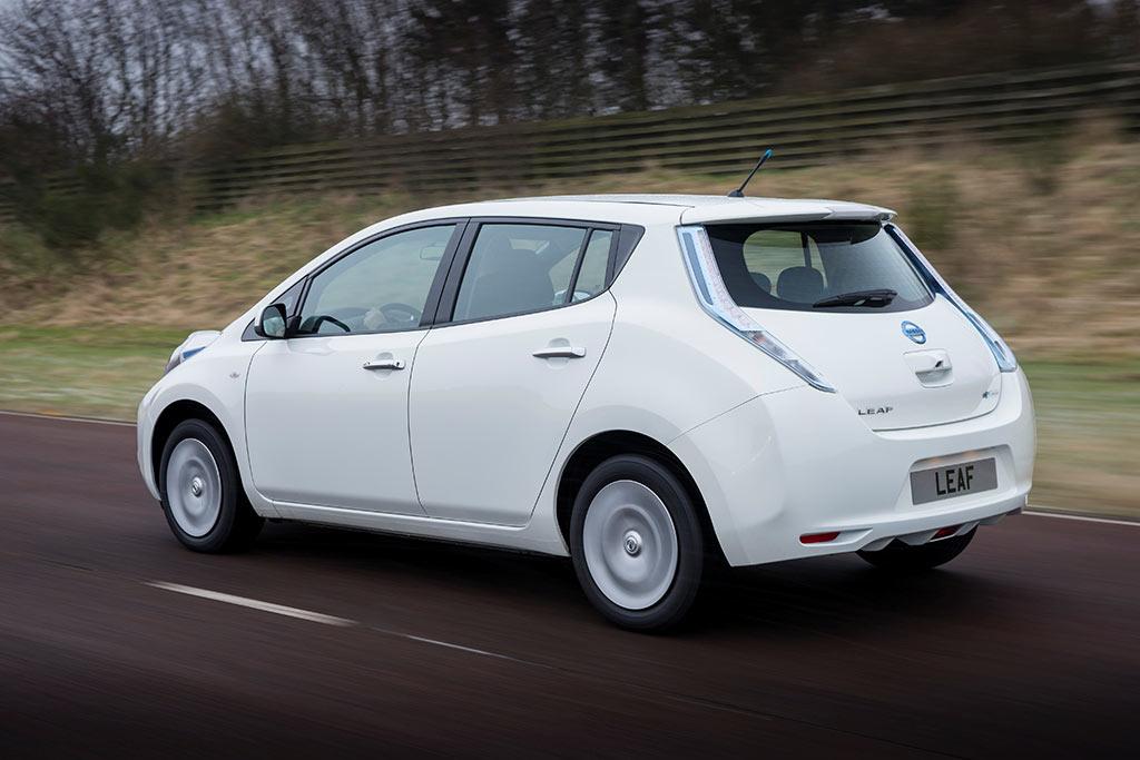 Nissan Leaf - In England jetzt mit Batterieleasing
