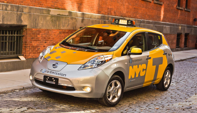Nissan-Leaf-Taxi New York