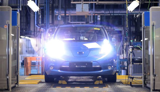 Nissan Leaf wird ab sofort in Europa produziert