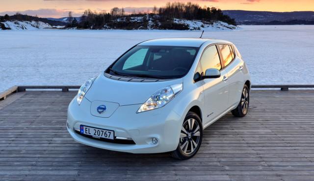 Norweger lieben den Nissan Leaf