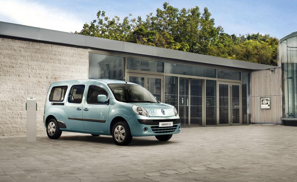 Renault Kangoo Z.E. bereits 10.000 Mal produziert