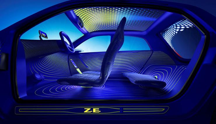 Renault Twin'Z Innen