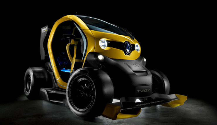 Renault Twizy Sport F1 Concept Front