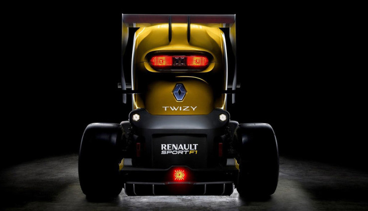 Renault Twizy Sport F1 Concept Heck 2