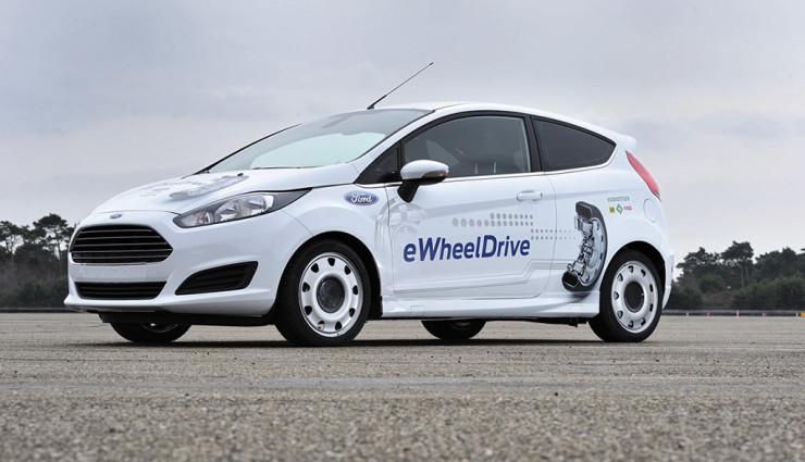Schaeffler, Ford - E-Wheel Drive