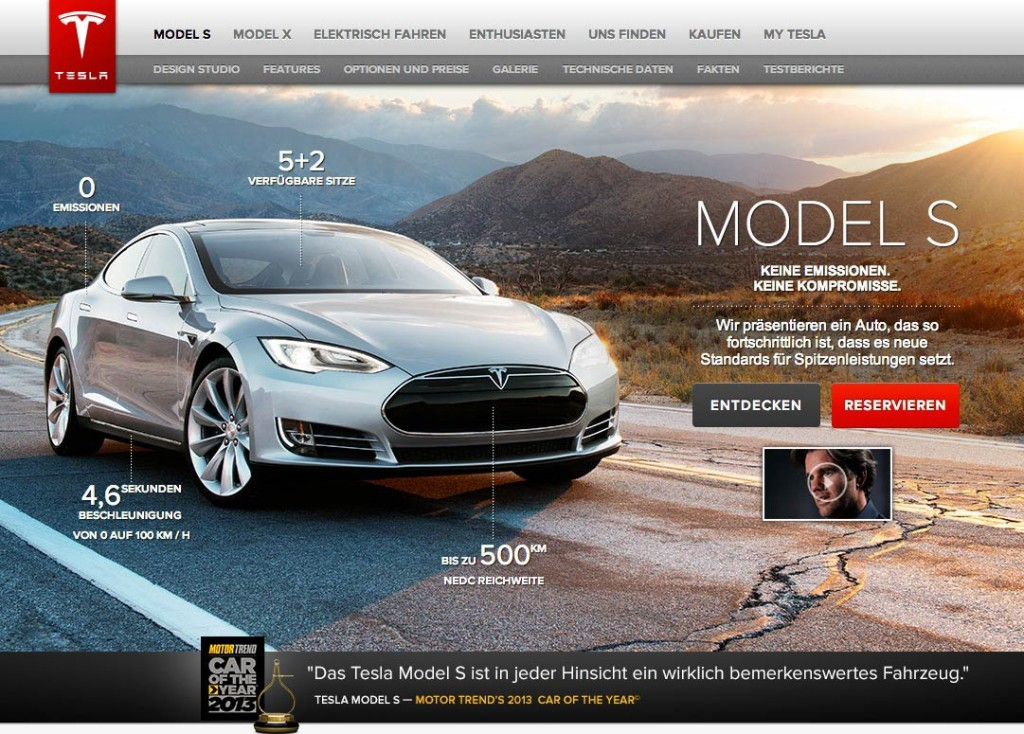 Tesla Model S Deutschland kaufen