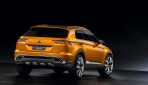 VW CrossBlue Coupe Heck