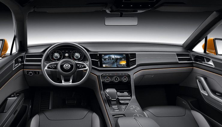 VW CrossBlue Coupe Navigation