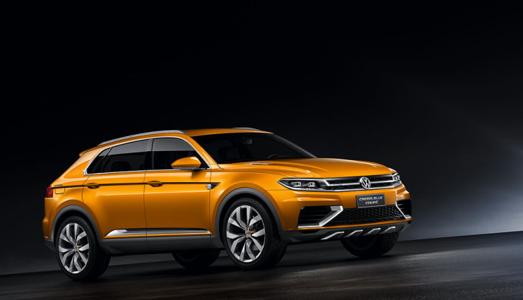 VW CrossBlue Coupe Seite 2