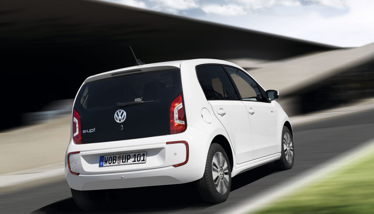 VW Elektroauto e-up! Heck 2