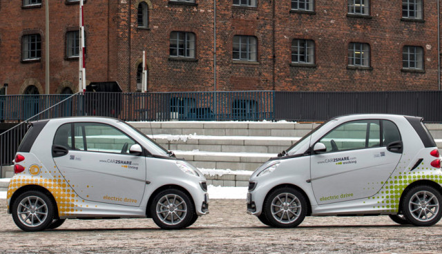 smart fortwo electric drive TNS Infratest Umfrage