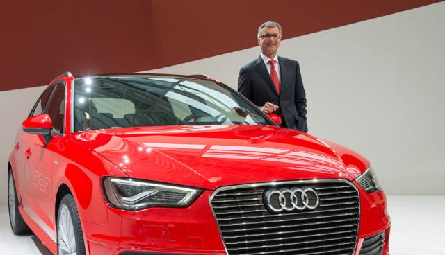 Audi-Chef Stadler erteilt Elektroautos vorerst eine Absage - Konzentration auf Hybrid