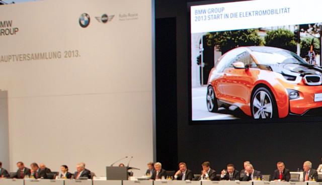 BMW bekennt sich auf Hauptversammlung zum Elektroauto