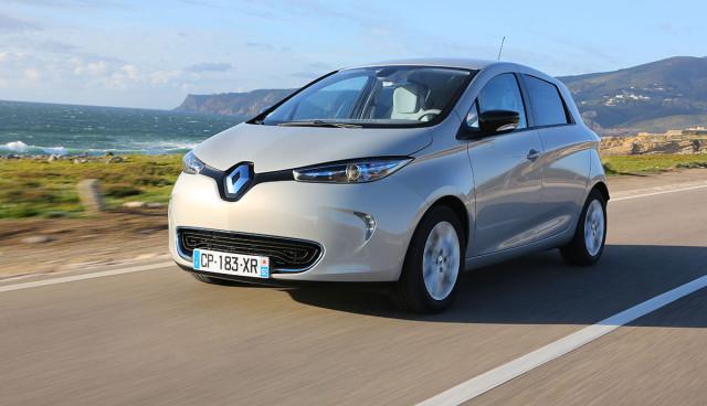 Elektroauto Renault ZOE Front
