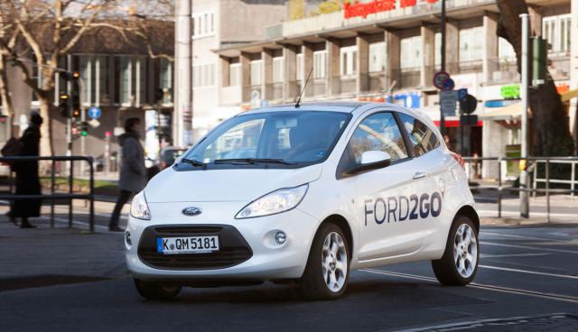FORD2GO - Ford startet eigenen Carsharing-Service