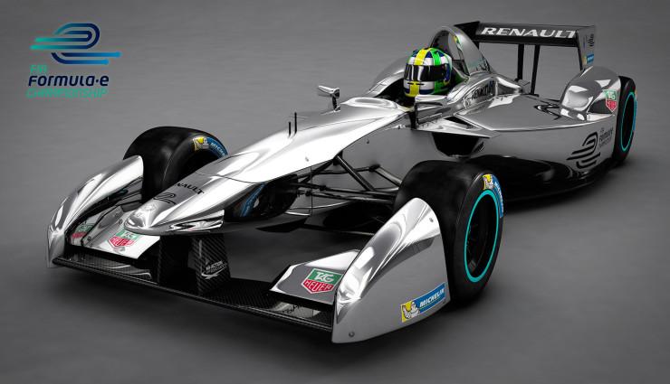 Formel-E-Rennwagen-Design 2013