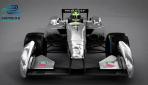 Formel-E-Rennwagen-Design  2013 Front