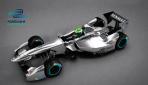 Formel-E-Rennwagen-Design  2013 Oben