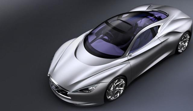 Nissan Infiniti Emerg-e Plug-in-Hybrid-Sportwagen