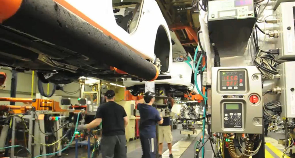 Nissan Leaf Produktion - Video