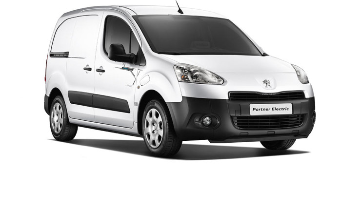 Peugeot Partner Electric Front