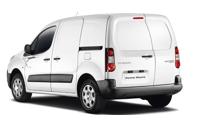 Peugeot Partner Electric HEck Ladung