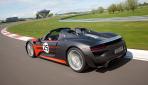 Porsche 918 Spyder Hybrid Heck offen