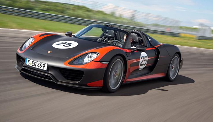 Porsche 918 Spyder Hybrid Seite