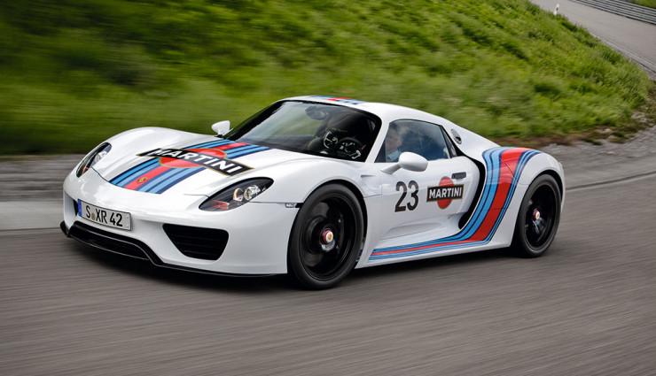 Porsche 918 Spyder Martini Racing Nuerburgring