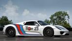 Porsche 918 Spyder Martini Racing Seite
