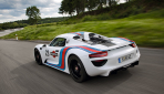 Porsche 918 Spyder Martini Racing Tail Pipes