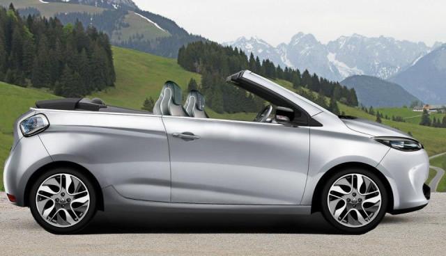 Renault ZOE - Elektro-Cabrio