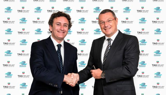 Renault und Tag Heuer - Partnerschaftsverträge mit Formel-E