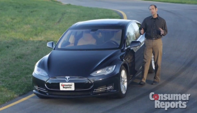 Tesla Model S Test ConsumerReports