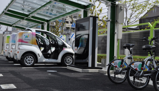 Toyota Smart Mobility Park Japan