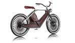 Cykno E-Bike Elektrofahrrad Bruan Hinten