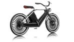 Cykno E-Bike Elektrofahrrad Schwarz Hinten