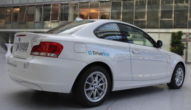 DriveNow München BMW ActiveE