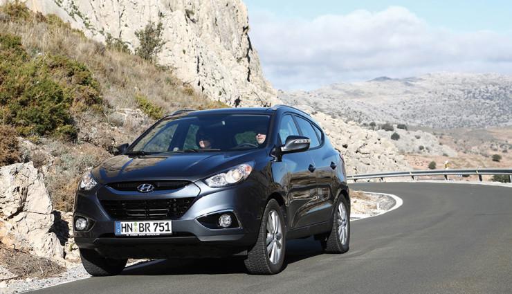 Hyundai ix35 Wasserstoff Front 2