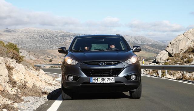 Hyundai ix35 Wasserstoff Front