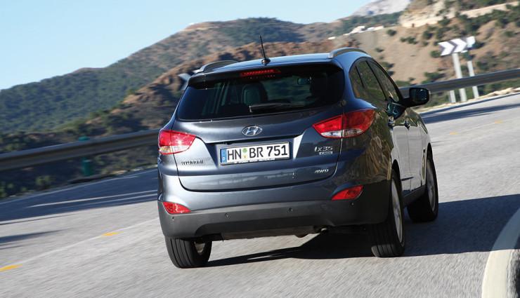 Hyundai ix35 Wasserstoff Heck