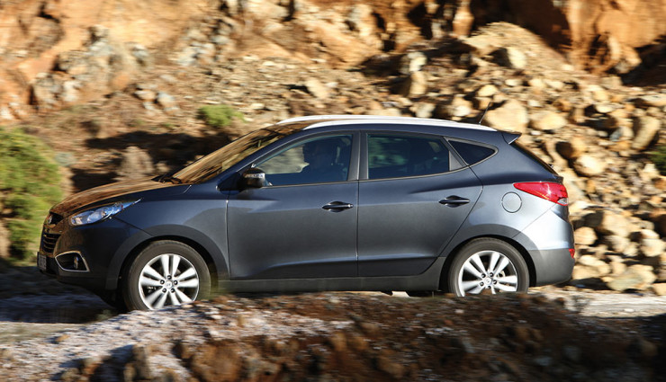 Hyundai ix35 Wasserstoff Seite