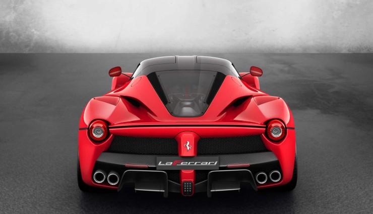 Ferrari LaFerrari Hybrid Heck